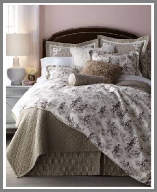 Black and White Toile Duvet Covers