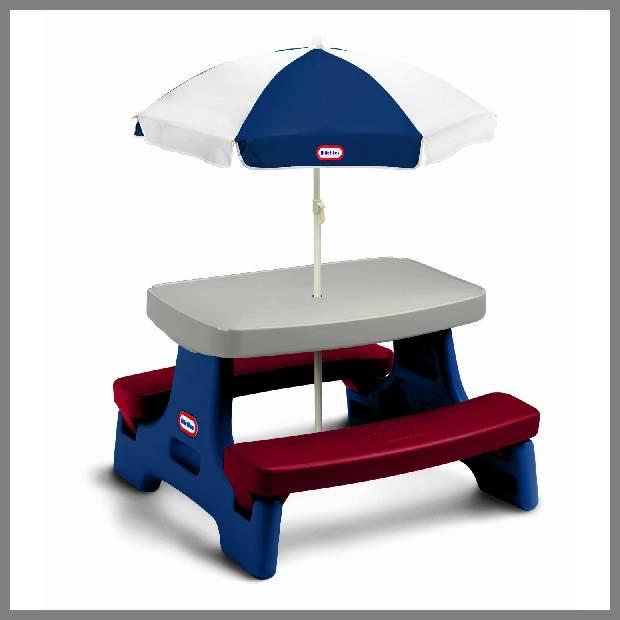 Child's Plastic Picnic Table