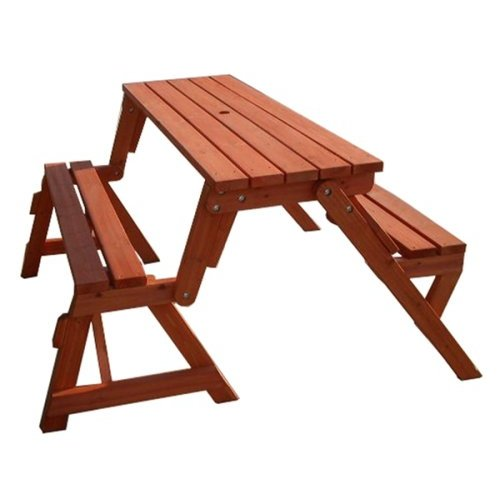 Garden Interchangeable Picnic Table and Bench