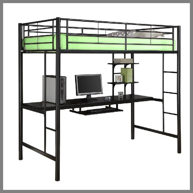 Loft Bed With Desk image