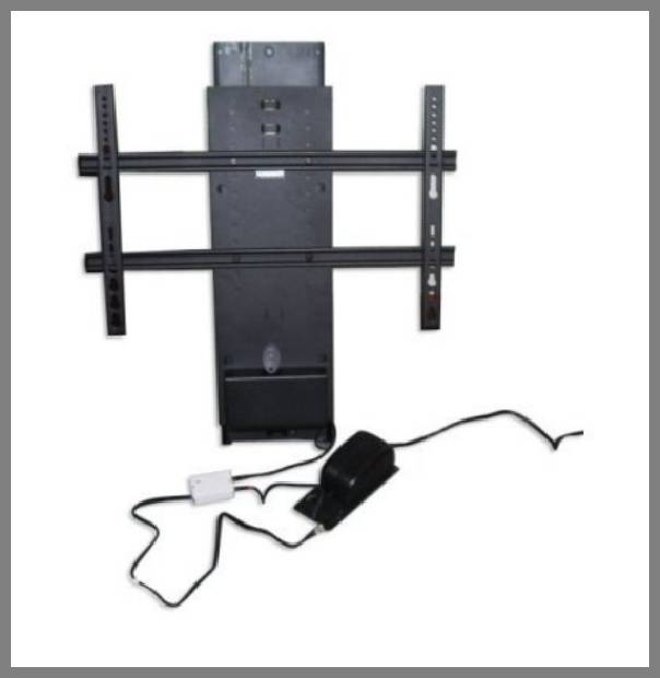 Motorized flat panel tv lift for Motorized flat screen tv lift