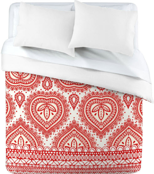 Red Patterned Duvet Covers – WhereIBuyIt.com