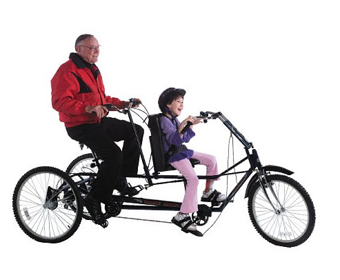 Adult Tandem Tricycle 45
