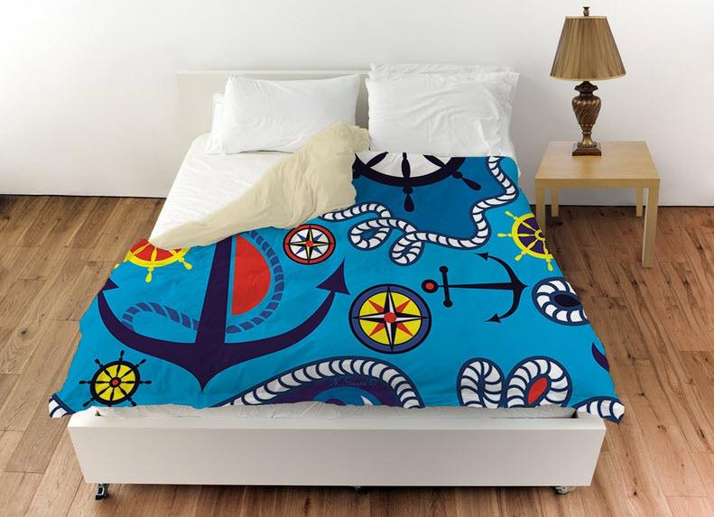 Anchor Bedspread - r