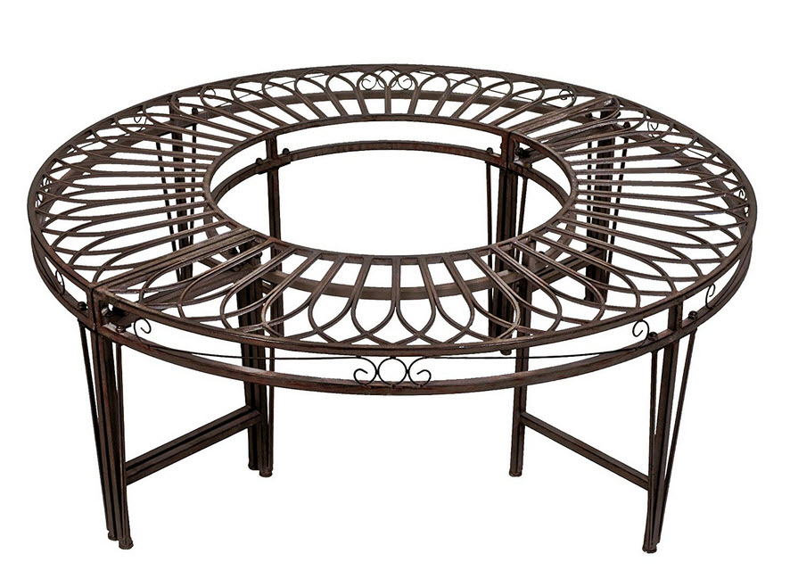 Circular Tree Benches - r