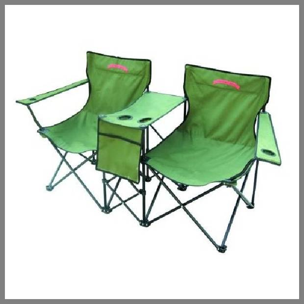 Double Folding Chair with Table – WhereIBuyIt