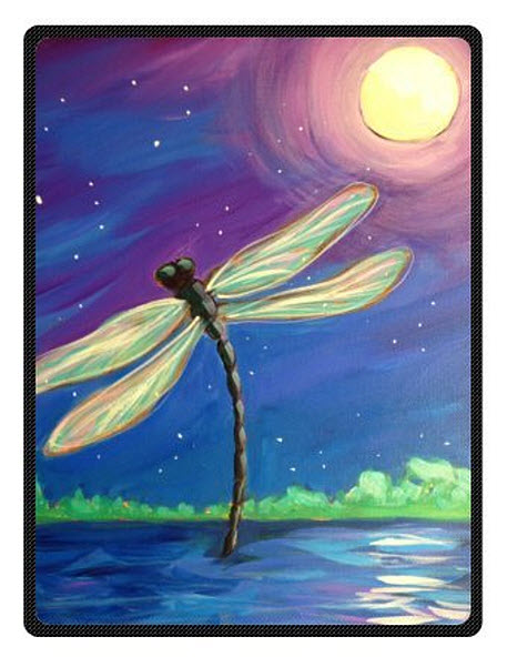 Dragonfly Bedspread - r