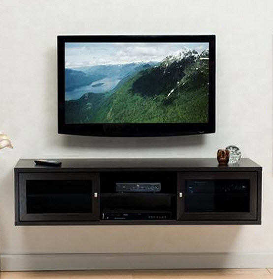 Wall Mounted Media Console - 2