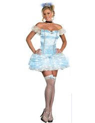 Cinderella Halloween Costumes for Adults picture-1