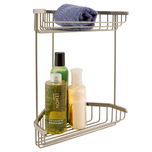 Corner Shower Caddy Brushed Nickel – WhereIBuyIt.com