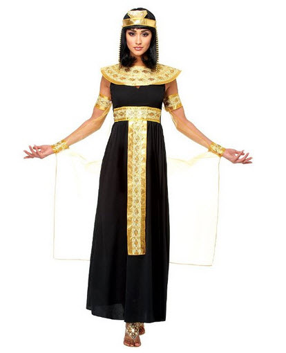 Egyptian Halloween Costume pictured: Goddessey LLC Queen of the Nile ...
