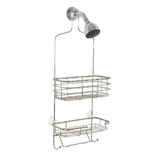 hanging shower caddy u2013 stainless steel stainless