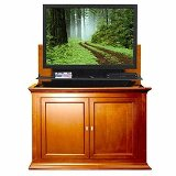 Motorized tv cabinets for flat screens for Motorized tv stands flat screens