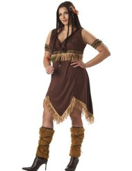 Pocahontas Halloween Costume for Adults picture-2