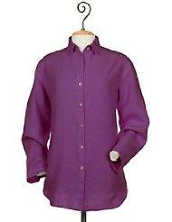 Purple Linen Shirt picture-2