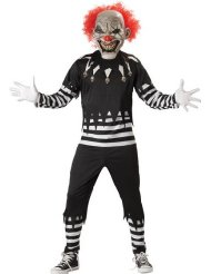 Scary Clown Halloween Costumes picture-1