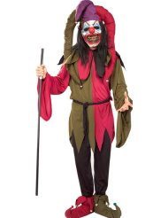 Scary Clown Halloween Costumes picture-2