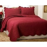Solid Red Quilt picture-1