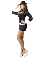 Womens Gangster Halloween Costumes picture-1