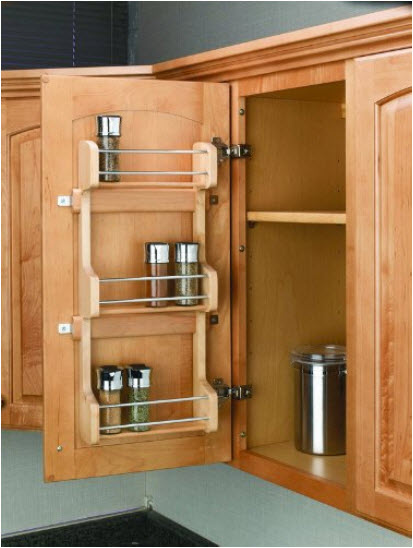 Inside Kitchen Cupboards Inside Cabinet Door Spice Rack  Whereibuyit