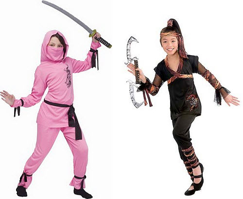 ninja halloween costumes for girls