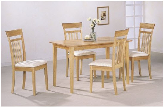 Maple Dining Room Table And Chairs