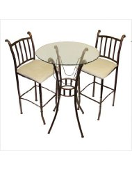 3 piece indoor bistro set picture-2