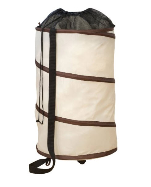 Collapsible Laundry Hamper On Wheels