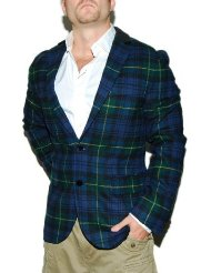 Tartan Blazer Mens | Fashion Ql