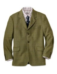 mens tweed blazer with elbow patches picture-1