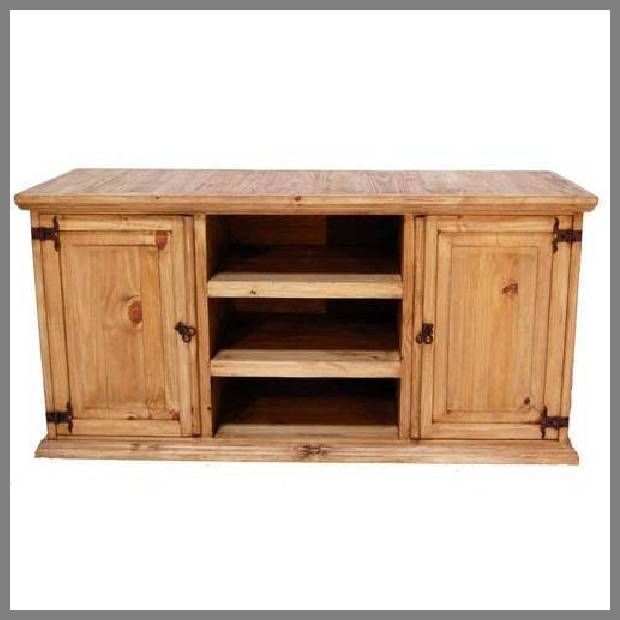 rustic tv stand image