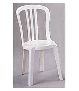 White resin stacking chairs - White resin stacking chairs ...