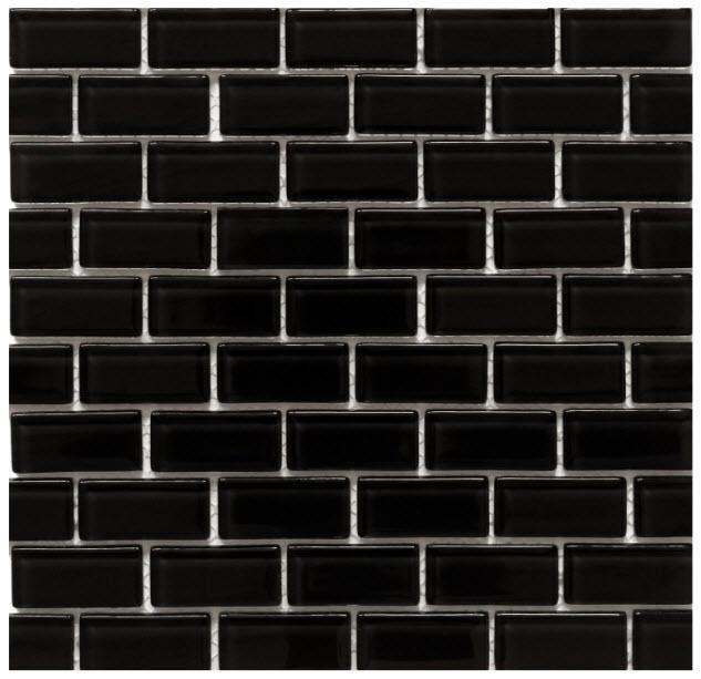 Lego Kitchen Backsplash: Black Backsplash
