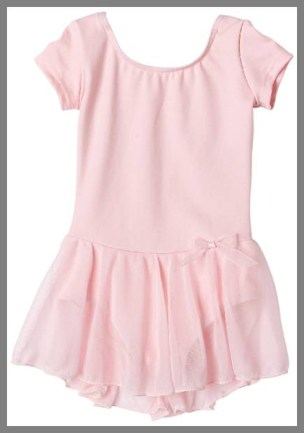 Skirted leotards for children image