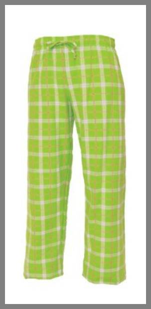 lime green golf pants image
