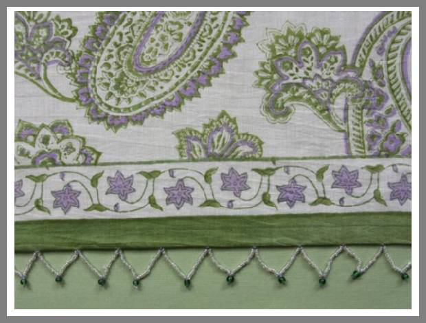 paisley window valances image