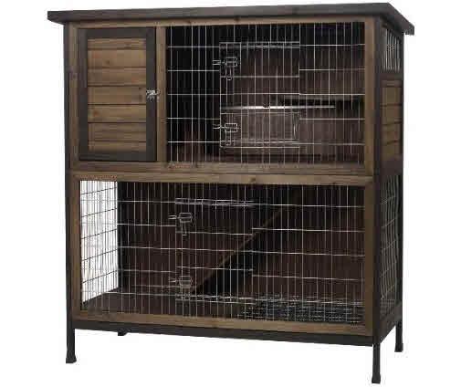 Wooden ferret cage for Super pet hutch