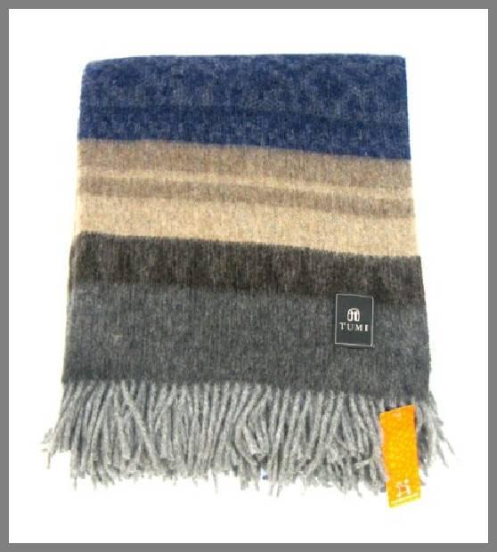 Alpaca wool throw blanket