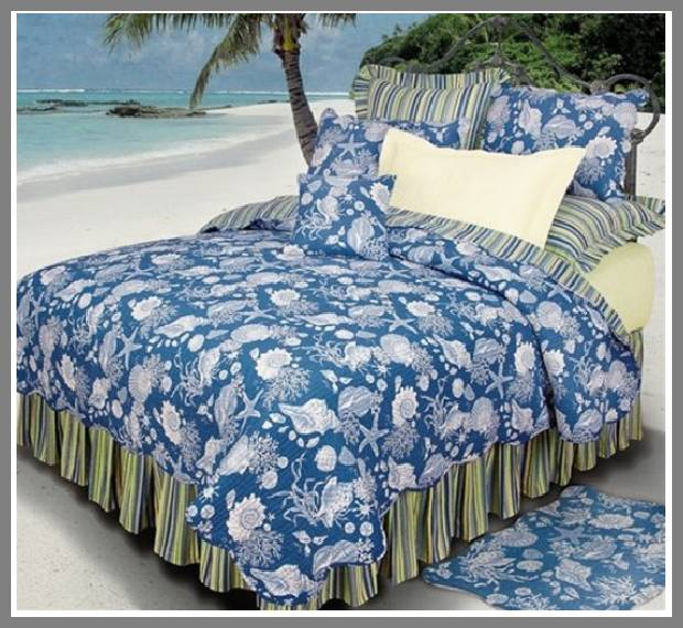 Beach house bedding sets