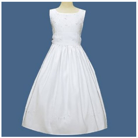 Beaded first communion dresses