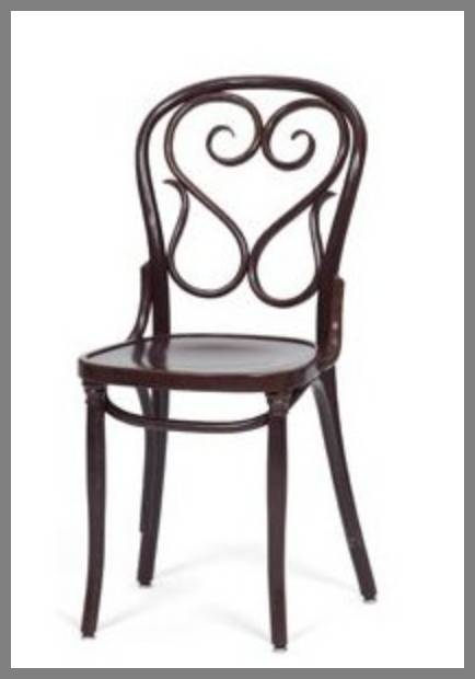 Bentwood dining chairs image