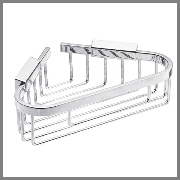 Corner shower soap dishes image