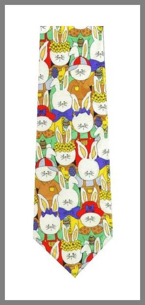 Easter ties men