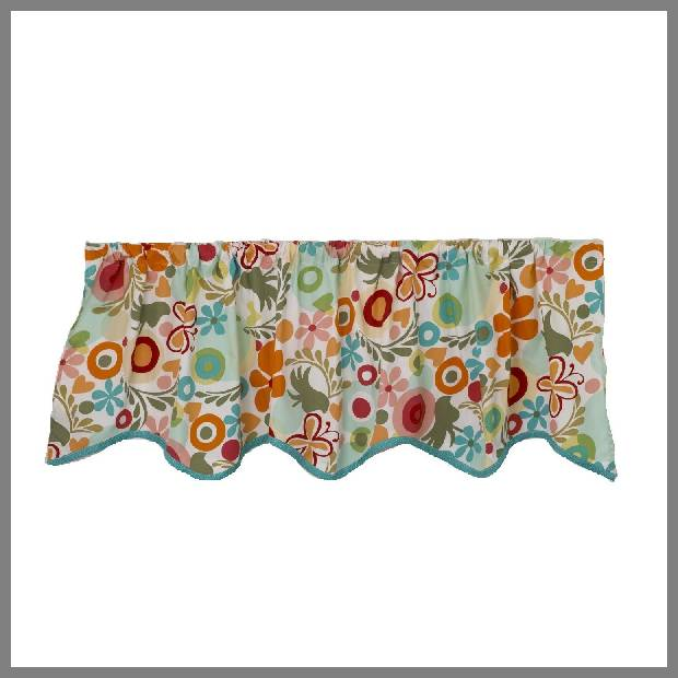 Floral Window Valances