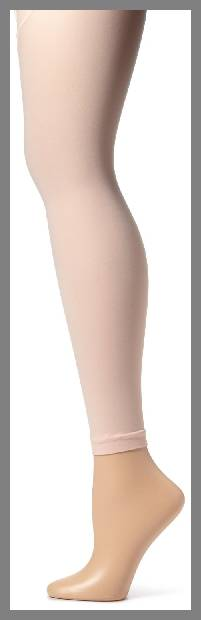 Footless ballet tights image