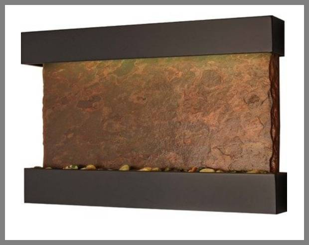 Outdoor copper wall fountains image