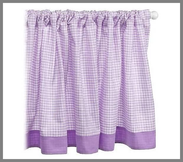 Purple window valances image