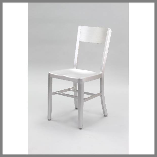 Silver dining chairs image
