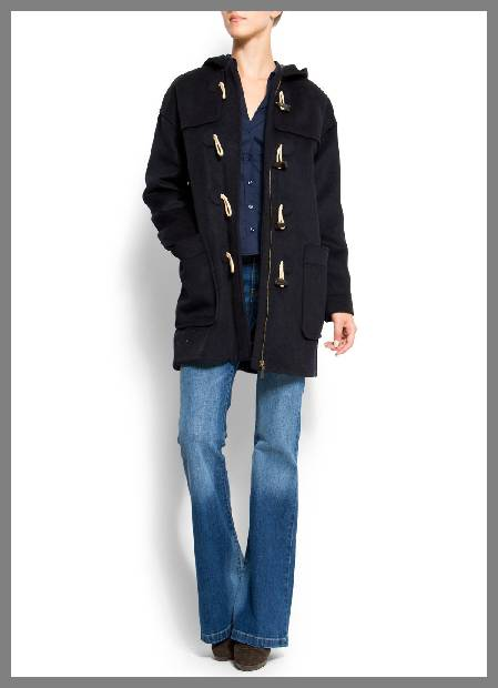 Wool duffle coats for women