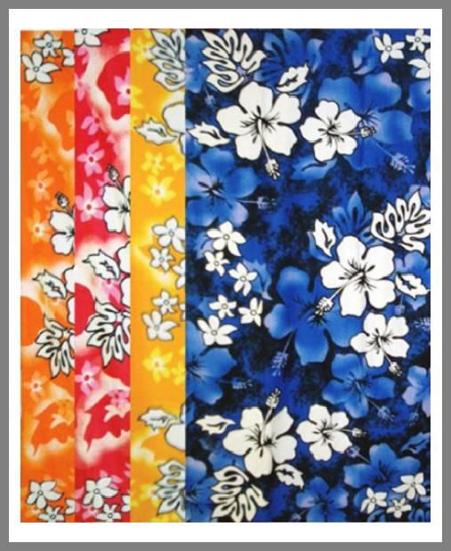 hibiscus beach towel image
